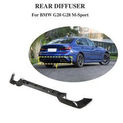 Dyfuzor tylnego zderzaka z włókna węglowego Protector dla BMW serii 3 G20 G28 M PORT 2019 2020
