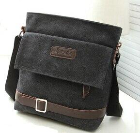 Image 3 - Новинка 2020 мужская сумка для отдыха сумка через плечо с дорожным холщовым материалом мужские сумки через плечо сумка мессенджер