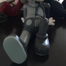 40*23cm urso bricklys dissecção companheiro lugar de descanso figuras ação blocos ursos bonecas pvc collectible modelo brinquedos decoração