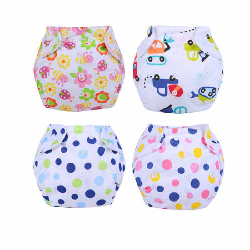 1PC Cloth Diapers Baby Diapers Newborn Baby All Seasons Cloth Diaper Cover Adjustable Reusable Washable Nappy