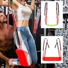 цены на Sport Fitness Pull Up Bar Resistance Band Elastic Rope Home Arm Muscle Training Bar Hanging Belt Chin Up Slings Straps Assistant  в интернет-магазинах