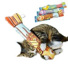Brinquedos do gato do brinquedo do animal de estimação brinquedos do gato de mascar jogando mordendo suprimentos interativos de mascar o brinquedo dos peixes dropshiping