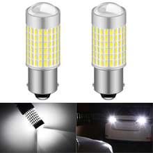 Автомобильная светодиодная лампа задсветильник хода 1156 p21w