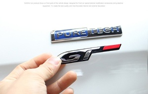 Image 5 - Авто 3D эмблема наклейка значок GT дизайн для peugeot