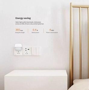 Image 5 - Yeelight YLYD09YL carré lumière contrôlée capteur intelligent veilleuse Ultra faible consommation dénergie pour xiaomi mijia MI maison