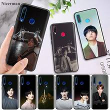 Kpop Kim V Taehyung Silicone Case for Huawei Honor 8X 8C 8A 8S 9 10 9X 20i V20 Lite Pro Y7 Y6 Y5 Y9 2018 2019 Play Enjoy 9E 9S
