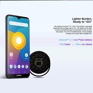 "Image 4 - Doogee x90 telefone móvel 6.1 ""hd waterdrop tela 1gb ram 16gb rom 3400mah mt6580a/wa quad core face id android 8.1 smartphone"