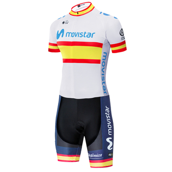 2020 equipo de Ciclismo Movistar Skinsuit Ropa Ciclismo Maillot Jumpsuit Road Racing...