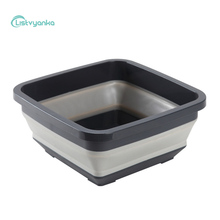 Folding Basin Household Bathroom Kitchen Travel Outdoor Car Foldable Washbasin Pedicure Bath Plastic Portable Basins LISTVYANKA
