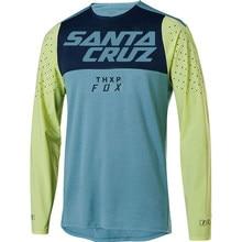 Moto Bicycle Jersey Long Sleeve Cycling Enduro Mtb Shirt Downhill T-shirt Camiseta Motocross Mx Mountain Bike Clothing Fox Mtb