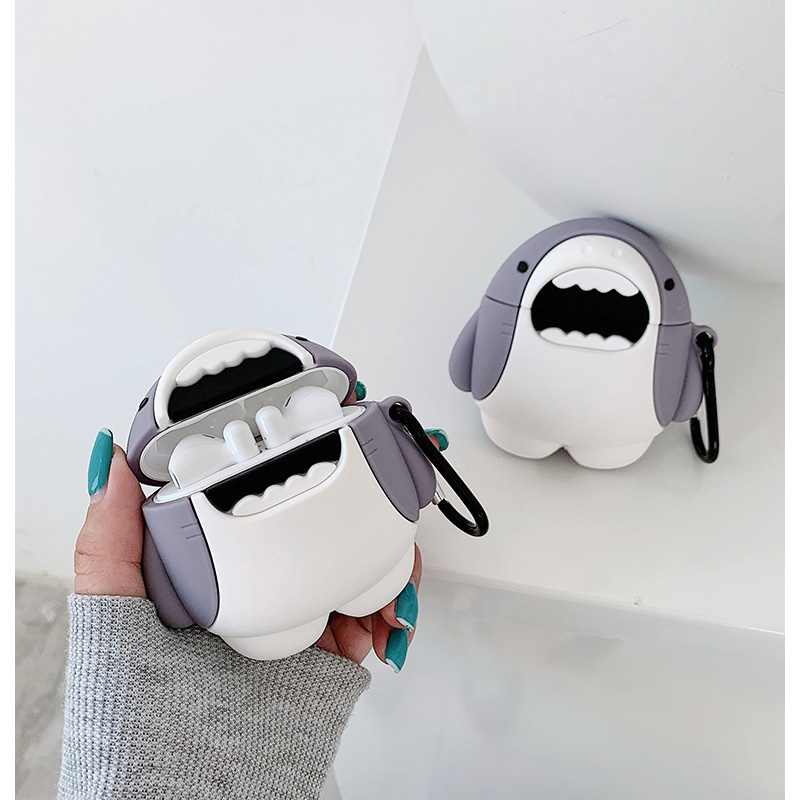Cute 3D Cartoon Protection <font><b>Case</b></font> for Xiaomi Mi Air 2 Wireless <font><b>Bluetooth</b></font> <font><b>Headset</b></font> Protective Cover Silicone <font><b>Case</b></font> for Xiaomi Air 2 image