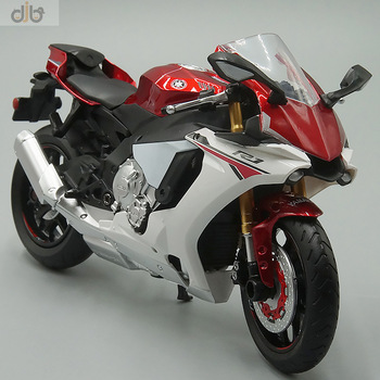 1:12 Diecast Motorcycle Model Toy F-Yamaha YZF R1 Sport Bike For Collection 1