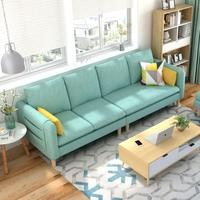 Hot Sal Living Room Sofa Set Home Furniture Modern Design Fashion Fabric Frame Soft Natural Latex L Shape Home Furniture
