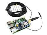 Low Power SIM868 GSM GPRS GNSS Bluetooth 3 0 HUT für Raspberry Pi 2B/3B/Null/Null W unterstützung SMS Anruf CP2102 UART Debugging