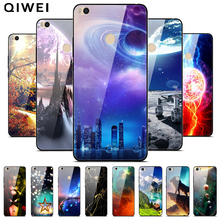 For Xiaomi Mi Max 2 Case Tempered Glass Hard PC Back Cover F