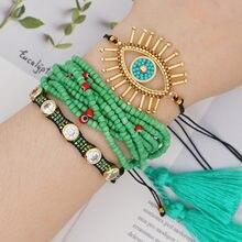 Женский браслет «Миюки» go2boho регулируемый ручной работы с