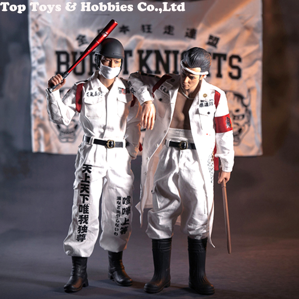 Japanese mob For Collection WorldBox AT028 /AT029 :The 1/6 scale Bousouzoku Collectible Double dolls TT007 Runaway full Figure