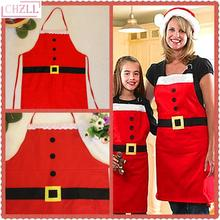 CHZLL Merry Christmas Apron Natal 2018 Noel Ornaments Christmas Decoration for Home Kitchen