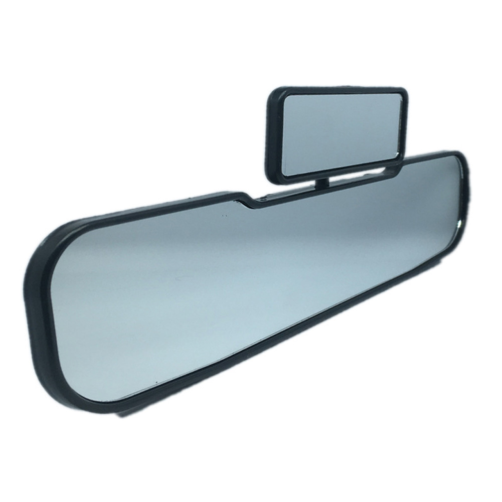 2 In 1 Rearview Mirror 안전 거울 인테리어 Double Car Child View 유아 어린이 Rotatable Wide Angle Universal