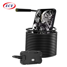 Y13 5.5mm WIFI Endoscope Camera with Battery Screen Display HD1080p Waterproof Inspection Borescope for Iphone Android Phones