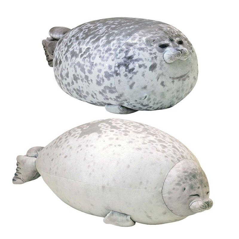 Плюшевые толстые уплотнители, мягкие плюшевые игрушки с морским животным из мультфильма, большая детская подушка для сна, милая Подушка для...