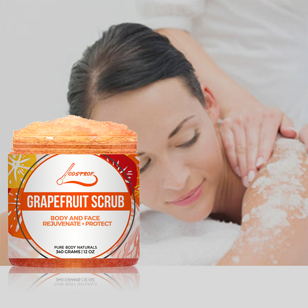 Grapefruit Scrub Exfoliation Facial Dead Whitening Moisturizing Remove Varicose Veins Cellulite Stretch Marks Body Face