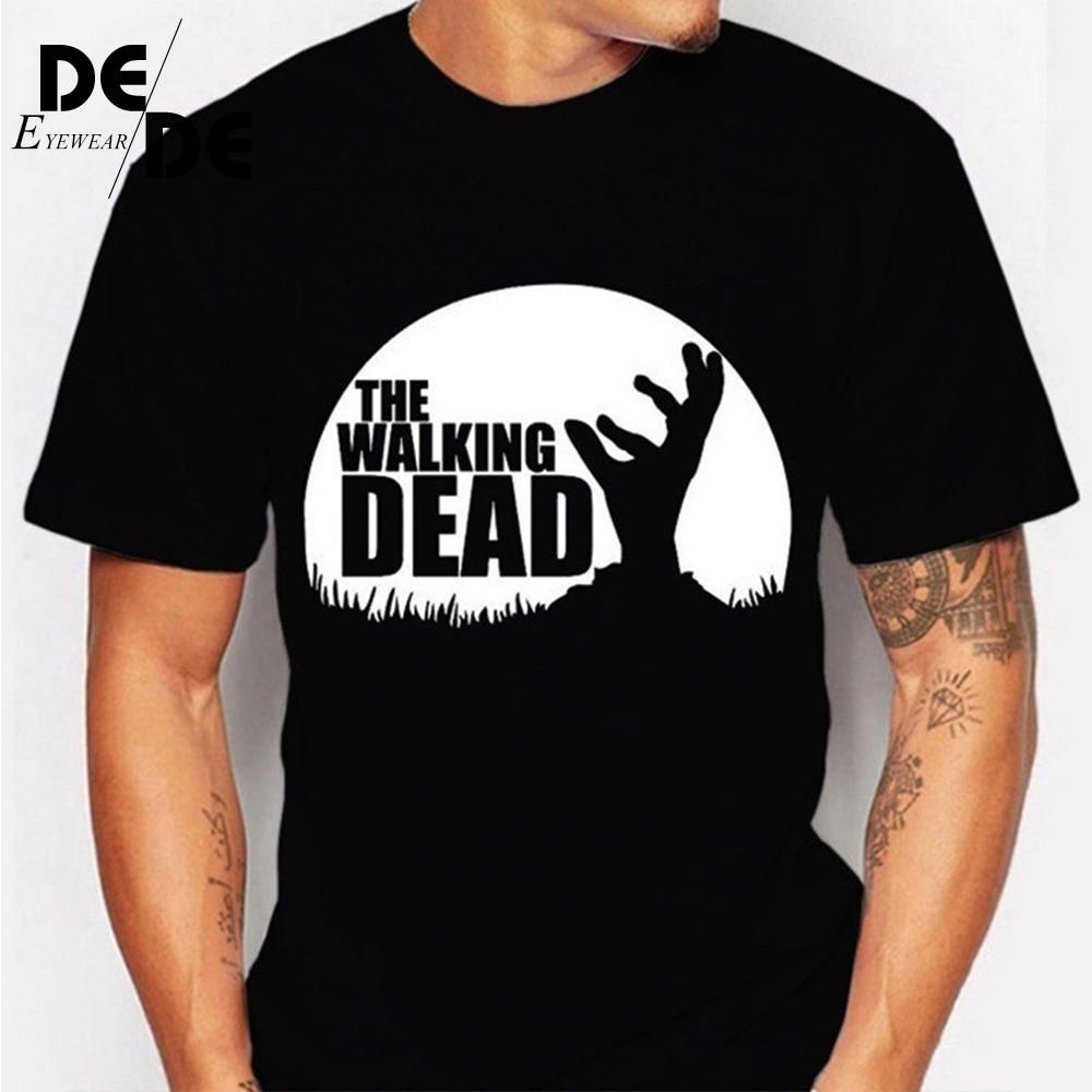 2019 summer trend new fashion T-shirt The walking dead beauty drama printing