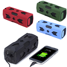 цена на Outdoor Speaker Waterproof Wireless Bluetooth Speakers Boombox sound box Surround Support TF For PC IPX7 NFC 1800mAh Power Bank