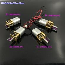 Motor DC Reducer N20-Gear 300RPM Slow-Speed Full-Metal-Gearbox Mini Micro 3v-6v 28RPM