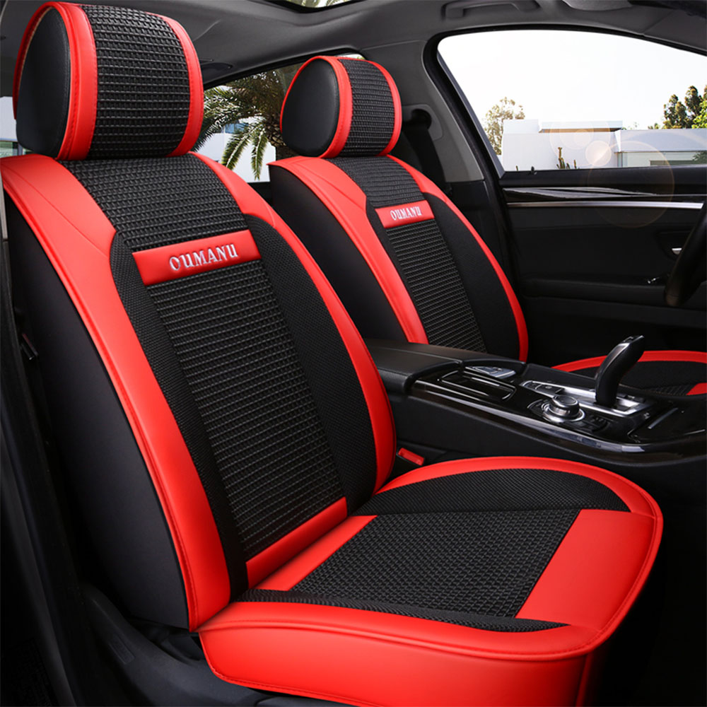 New Leather ice silk car seat covers For LEXUS RX270 RX350 RX450h RX300 RX330 RX400h <font><b>RX200</b></font> NX200 NX300 NX300h car seats styling image