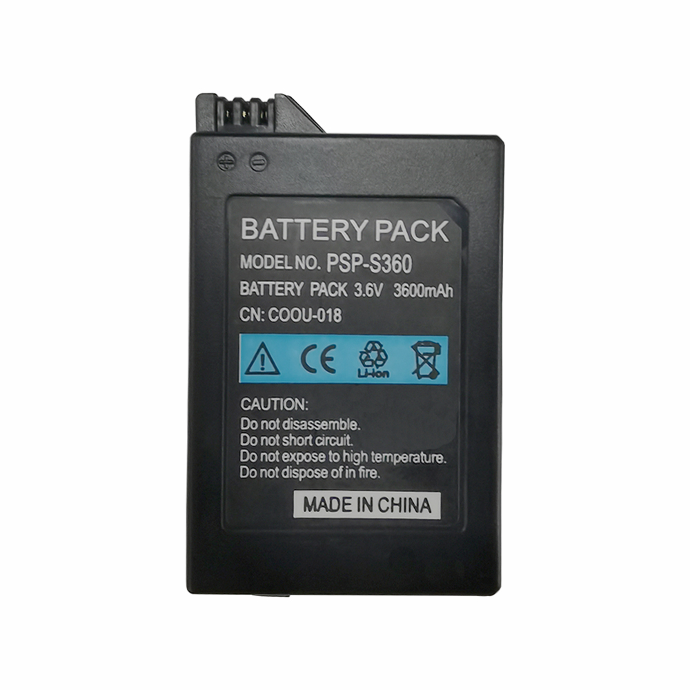3600mAh Battery Pack for Sony PSP 2000 PSP 3000 PSP2000 PSP3000 PlayStation Portable Rechargeable Batteries 3.6V Power Bateria 1