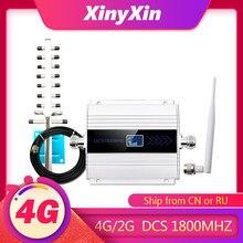 1800 GSM ретранслятор 4G усилитель сотового сигнала LTE 4G Сотовый усилитель GSM Мобильный усилитель сигнала повторитель gsm 2g 3g 4g антенна