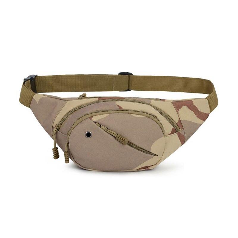 Tactical Waist Belt Bag Camping Climbings Waist Bag Gear Military Camouflage Waist Pack Pouch Outdoor Hiking Running Sports Bag