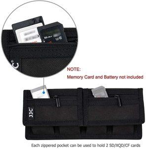 Image 5 - Batterie Pochette pour Carte Mémoire Sac De Rangement pour SD CF Cartes XQD pour Sony NP F550 NP FW50 NP FZ100 Canon LP E6 LP E8 LP E10 LP E12