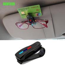 M Mperformance Mpower Car Glasses Bracket Visor Card Holder Sticker For BMW E34 E36 E60 E90 E46 E39 E70 F10 F20 F30 X5 X6 M3 M5