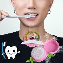 Dentifrice pour lélimination des taches et des taches, blanchissant, trèfle à base de plantes naturelles, thaïlande, dentifrice, combat les gencives saignantes, combat les gencives