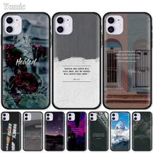 Soft Case For Apple iPhone 7 8 XR 11 Pro X XS MAX 6 6S Plus 5 5S SE 2020 Silicone Black Phone Cover Bible Verse Philippians babaite bible verse philippians jesus novelty fundas phone case cover for apple iphone 8 7 6 6s plus x xs max 5 5s se xr cover