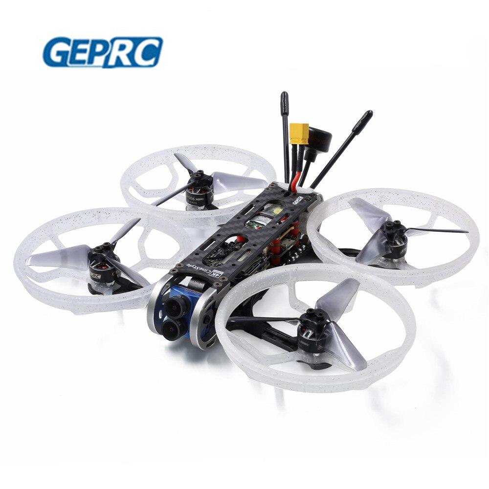 GEPRC CineQueen 4K Caddx Tarsier V2 Camera 3 Inch CineWhoop STABLE V2 F4 30A 1206 3600KV Motor FPV Racing Drone
