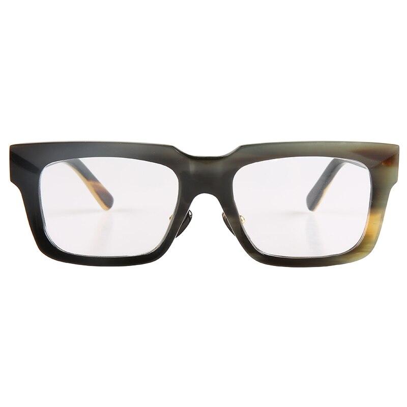 Fashion big large wide rectangle horn optical glasses eyeglasses frame  suitable for round big face horn sunglasses