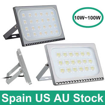 1 PC100W 50W 30W 20W Ultrathin LED Flood Light 110V 220V LED Spotlight Refletor Outdoor Lighting Wall Lamp Wall Lamp Floodlight - Category 🛒 Lights & Lighting
