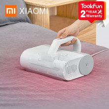 2021 New XIAOMI MIJIA Mite Remover Brush for Home Bed Quilt UV sterilization disinfection Vacuum Cleaner 12000PA cyclone Suction