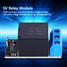 цена 1 Channel Relay Module SL25A01 5V Self Locking Relay Module Low Level Control Switch Bistable Relay Module онлайн в 2017 году
