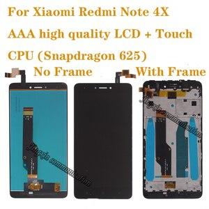 AAA высокое качество для Xiaomi Redmi note 4X ЖК-дисплей сенсорный экран дигитайзер для Redmi note 4 глобальная версия (Snapdragon 625)