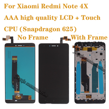 AAA high quality For Xiaomi Redmi note 4X LCD Display Touch Screen Digitizer 4 Global version (Snapdragon 625)