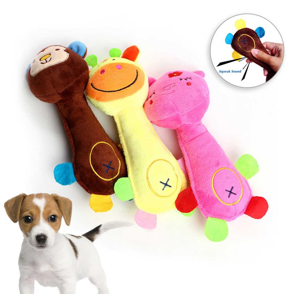 Kot pluszowy Chew Squeak zabawka dla małe duże psy gra gryzaki zabawka dla psa Pet Traning Supplies psy zabawka wydająca dźwięki