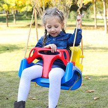 Children Home Ropes Swing Three-in-one Infant Baby Boat Entertainment Equipment Outdoor Kids Toys Set Interactive Swivel Chair(China)