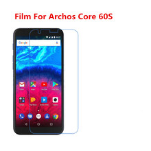 1/2/5/10 Pcs Ultra Thin Clear HD LCD Screen Guard Protector Film With Cleaning Cloth Film For Archos Core 60S.(China)