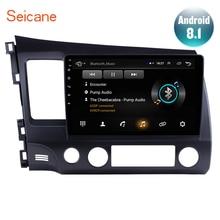 """Seicane 10,"""" Android 8,1 Автомобильный gps навигатор 2DIN радио для 2006 2007 2008 2009 2010 2011 Honda Civic 1080P Bluetooth автостерео"""