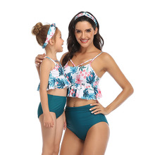 Mother Daughter Swimwear Family Look Mommy And Me Bikini Set Swimsuit Brachwear Family Matching Clothes Mom Daughter Clothes mother daughter swimsuits family look mom and daughter swimwear unicorn family matching bathing suit mommy and me bikini clothes