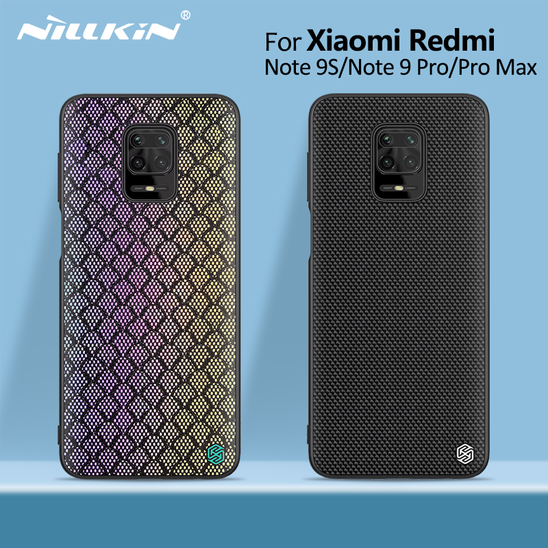 Redmi 10X 5G Case Redmi Note 9s case NILLKIN PC TPU silicone sports style Back cover for xiaomi redmi note 9 pro Note 9 Pro Max